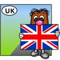 The Union Jack, United Kingdom Royalty Free Stock Photography