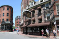 Union oyster house boston ma ye olde open to diners since is the oldest restaurant in the united states of america it is located Royalty Free Stock Image