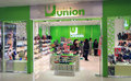 Union shop in hong kong located amoy plaza kowloon bay is a shoes retailer Royalty Free Stock Photo