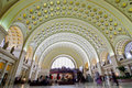 Union Station interior - Washington DC USA Royalty Free Stock Photo
