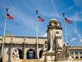 Union Station at Washington DC Royalty Free Stock Photos