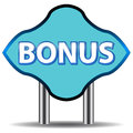 Unique bonus icon Stock Images