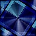 Unique Pattern in Dark Blue