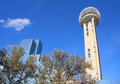 Unique Reunion Tower in Dallas Royalty Free Stock Images