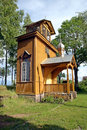 Unique russian old believers church estonia front building outlasted bombing world war ii has been restored Stock Photo