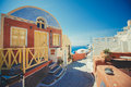 Unique Santorini Architecture....