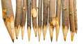 Unique Sharp  Pencils Royalty Free Stock Image