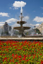 Unirii Square - Bucharest Royalty Free Stock Photo