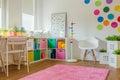 Unisex kids room Royalty Free Stock Photo