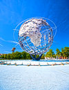 Unisphere flushing ny june the iconic in flushing meadows corona park in queens new york on june th Royalty Free Stock Images