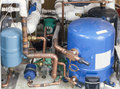 Unit cooling sistem Royalty Free Stock Photo