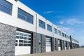 Unit storage facility Royalty Free Stock Photo