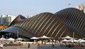 United Arab Emirates World Expo Pavilion Royalty Free Stock Photo