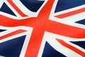 United Kingdom flag Stock Photos
