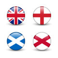 United Kingdom flag -England, Scotland, Ireland. Union Jack Royalty Free Stock Photo
