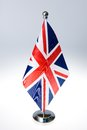 United Kingdom  table flag Royalty Free Stock Photo
