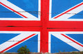 United Kingdom (UK) flag Royalty Free Stock Photo