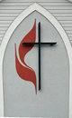 United methodist church logo Royalty Free Stock Photo