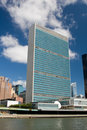 United Nations Building Royalty Free Stock Photography