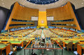 United Nations General Assembly Royalty Free Stock Photo