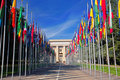 United Nations in Geneva Royalty Free Stock Photo