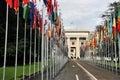 United Nations, Geneva Stock Photography