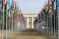 United Nations in Geneva Royalty Free Stock Photo