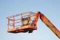United Rentals/JLG Work Platform Royalty Free Stock Photo