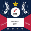 United State of America President election 2016 Royalty Free Stock Photo
