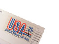 United States Air Mail Royalty Free Stock Photos