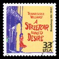 US - Postage Stamp Royalty Free Stock Photo
