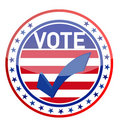 United States of America Elections pins Royalty Free Stock Photo