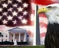 United States of America - Patriotic Symbols Royalty Free Stock Photo