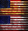 United States of America Textured Flag Royalty Free Stock Photo