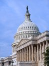 United states capitol building dome in washington Royalty Free Stock Images