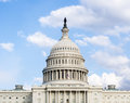 United states capitol building washington dc Royalty Free Stock Photography