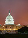 United states capitol building in washington dc at sunset Stock Photography
