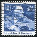 Franklin Delano Roosevelt Royalty Free Stock Photo