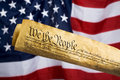 United States Constitution Royalty Free Stock Photo