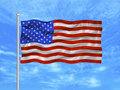 United States Flag 1 Stock Photography