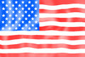 United states flag creative fresh design Royalty Free Stock Image