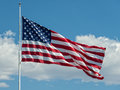 United States Flag Royalty Free Stock Photo