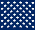 United states flag stars design Stock Photos
