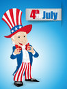 United states independence day uncle sam vector Royalty Free Stock Photo
