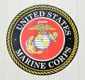 United States Marine Corps Emblem Royalty Free Stock Photo