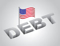 United States National Debt Stock Images