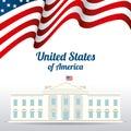 United states patriotism design of america vector illustration eps Stock Photos