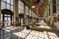 United states post office main hall of the james farley april in new york ny the building dates from and is being adaptively Stock Image