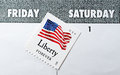 United States Postal Service Saturday Delivery Stock Photo