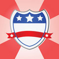 United States shield Royalty Free Stock Photo